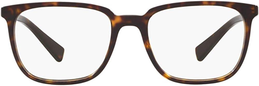Dolce & gabbana luxury fashion,montatura per occhiali da vista per uomo, 50% acetato , 50% metallo DG3298502