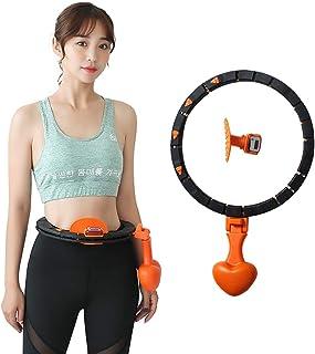 CLOUDH Hula Hoop Masaje De Neumáticos Hula Hoop,Smart Count Anillo No Deja Caer Artefacto De Pérdida De Peso De Yoga Hula Hoop para Adultos Y Niños