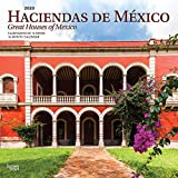 Haciendas de Mexico / Great Houses of Mexico 2020 12 x 12 Inch Monthly Square Wall Calendar, Mexico Houses Haciendas (Spanish and English Edition)