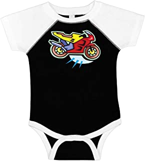 inktastic Crotch Rocket Motorcycle Infant Creeper