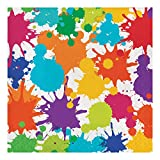 Creative Converting 317267 16-Count Paper Lunch Napkins, Art Party, One size, Multicolor