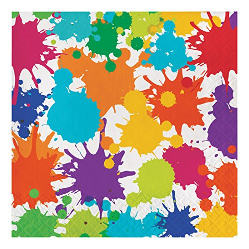 Creative Converting 317267 Party Supplies Paper Napkins, Multicolor