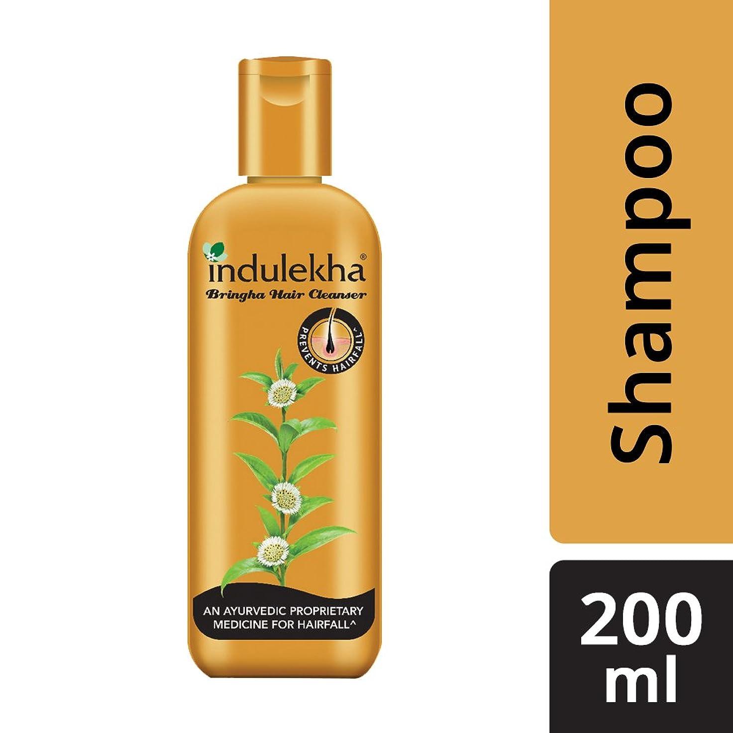 医療過誤リーン補充Indulekha Bringha Anti Hair Fall Shampoo (Hair Cleanser) 200ml, 6.76 oz - 並行輸入品 - イニディカ?ブリンガアンチヘアフォールシャンプー(ヘアクレンザー)200ml、6.76oz
