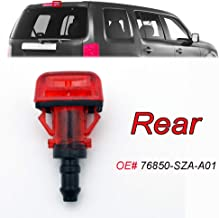 Xukey Rear Windshield Tailgate Nozzle Jet For Honda Pilot MK2 2015 2014 2013 2012 2011 2010 2009 OE# 76850-SZA-A01