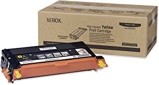 Xerox Phaser 6180/6180 MFP Yellow High Capacity Toner Cartridge (6,000 Pages) - 113R00725