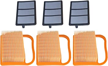 Panari (Pack of 3) Air Filter + Pre Cleaner for STIHL TS410 TS420 TS410Z TS420Z Concrete Cut Off Saw