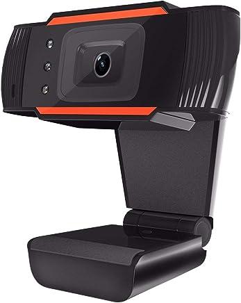 ELEGIANT - Webcam USB 2.0 HD 640x 480microfono integrato compatibile con Windows 2000/XP/Win7/8/10/Vista 32bit per PC computer Skype MSN Youtube Twitter Facebook - Trova i prezzi più bassi