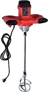 1600W Portable Electric Concrete Cement Plaster Grout Paint Thinset Mortar Paddle Mixer..
