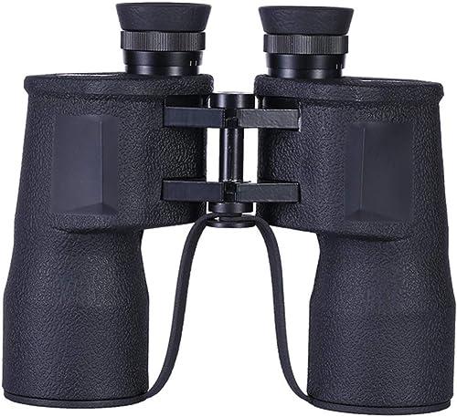 Jumelles LPW Télescope 10X50 Grand Angle Faible Niveau de Vision Nocturne