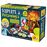 Liscianigiochi- I'm a Genius Science Gioco per Bambini Laboratorio Scoperte di Vulcanologia, Multicolore, 59515