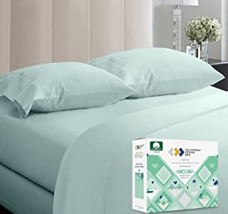 5-Star Hotel 600 Thread Count 100% Cotton Sheets Set - Soft & Smooth Queen Sheet for Bed with Deep Pockets, Quality Beats ...