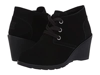 BOBS from SKECHERS Tumble Weed Ghost Town (Black/Black) Women