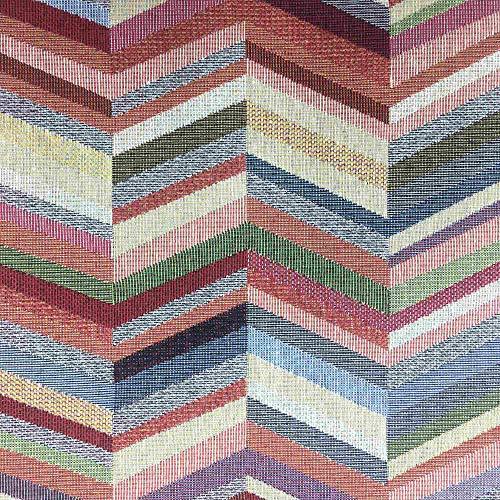 Kt KILOtela Tela por Metros de tapicería - Jacquard Gobelino - Ancho 280 cm - Largo a elección de 50 en 50 cm | Espiga - Multicolor