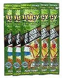 Juicy Jay Hemp Wraps Tropical Passion (5 Packs, 2 Wraps Per Pack) Total 10 Wraps with ES Scoop Card
