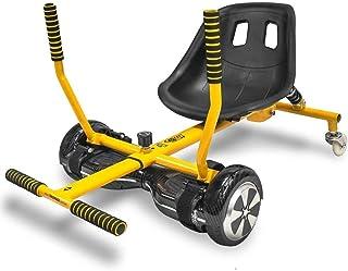 Go Kart Drift - Amarelo - Carrinho para Hoverboard - Aço - 1849 - Two Dogs