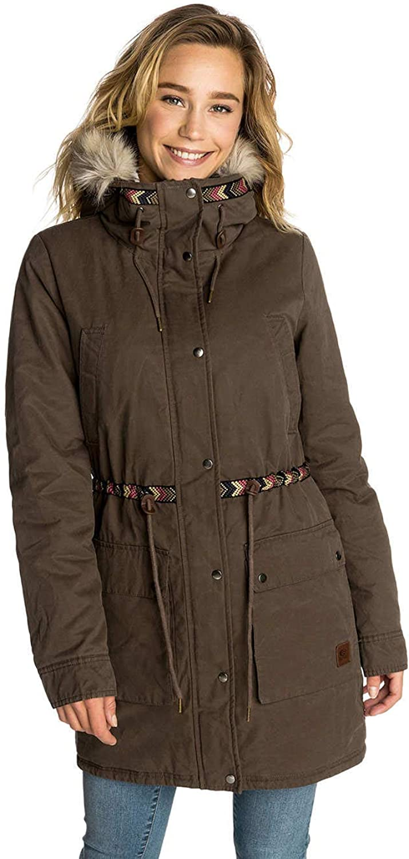 Rip Curl Major Brown Montauk Parka Womens Jacket