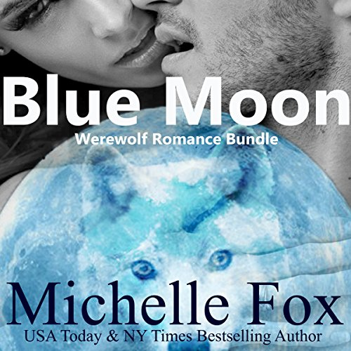 Couverture de Blue Moon Werewolf Romance Bundle