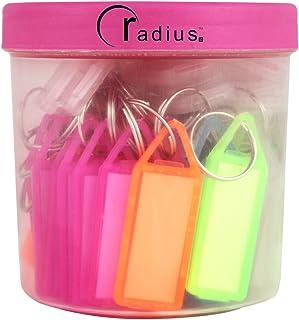 Radius Multicolor ID Tags Keychain(Set Of 50)