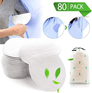 ALLYAOFA Underarm Sweat Pads, Disposable Armpit Sweat Pads Shield Fight Hyperhidrosis with Armpit Sweat Pads for Women and...