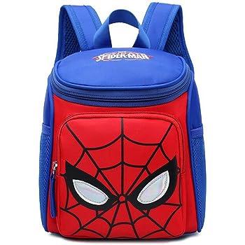Student Schultasche,Kinderrucksäcke Superhelden Kinder Rucksack Dauerhaft Einstellbare Kindergarten Baby Buch Taschen Jungen Mädchen Grundschule Buchen Rucksack