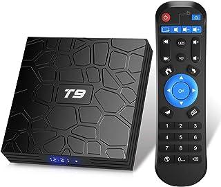 TUREWELL T9 Android 9.0 TV BOX 2GB RAM/16GB ROM Support 2.4/5.0Ghz WiFi BT4.0 RK3318 Quad-Core 4K 3D HDMI DLNA Smart TV BOX