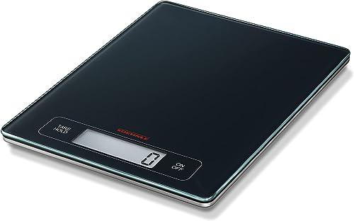 Soehnle Balance Électronique Page Profi, pèse aliment écran large multi fonctions Tare & Hold, balance alimentaire ca...