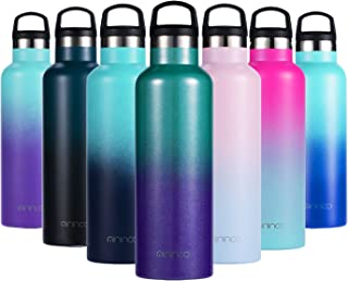 Insulated Water Bottle Stainless Steel Vacuum Insulated...