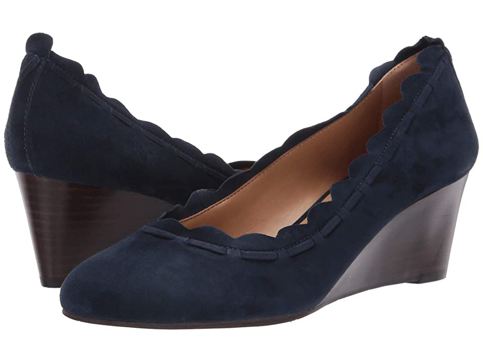 Jack Rogers Thea Suede (Midnight Suede) Women