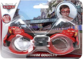 Eolo Disney Cars Swimming Goggles, Red, SM902CA