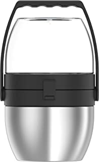 Thermos Stainless Steel Dual Compartment Food Jar, 1.1L, Stainless Steel, TS3430SS4AUS