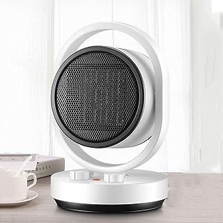 Jiareq1 Calefactor Ventilador Personal Calentador Oficina White Home Living portátil Compacto Espacio Personal Calentador eléctrico Fresco Caliente 1500w Ventilador (Deco no está Incluido)