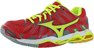 Mizuno Mens Wave Tornado X2 Lace-Up Low-Top Sneakers