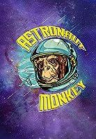 宇宙飛行士猿宇宙ポスター金属ブリキサイン 12 × 8 インチホームキッチン寝室バーサイン装飾ポスタースズサインハロウィン感謝祭ギフト メタルプレートブリキ 看板 2枚セットアンティークレトロ