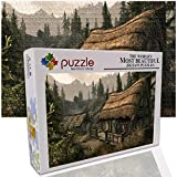 GFSJJ Puzzle Bonito Adultos 1000 Piezas Rompecabezas para Adultos Kids Infantiles Adolescentes (52 X 38 Cm) Choza De Fantasía