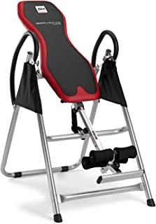 comprar comparacion BH Fitness GRAVITYX Tabla inversora, Adultos Unisex, Negro Rojo, Talla Única