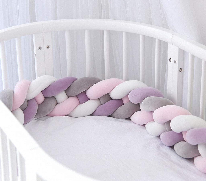 bienvenido a comprar ETDWA Parachoques extendido, riel de de de Cama Hipoalergénico Four Seasons Universal Safe Sleep Surround Projoección Tira Transpirable anticolisión (Color   15, Talla   2.2m)  80% de descuento