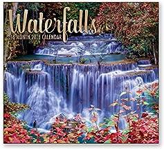 16 Month Wall Calendar 2018 - Waterfalls - Each Month Displays Full-Color Photograph. September 2017 - December 2018 Planning Calendar