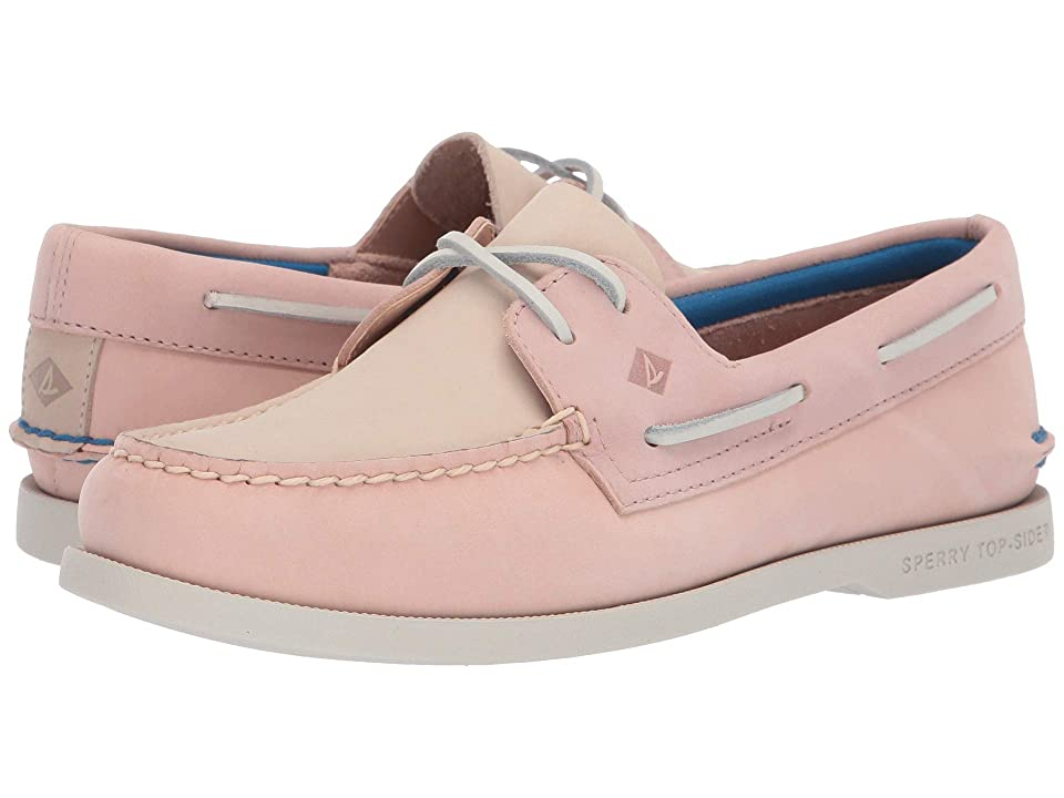 Sperry Authentic Original Plush Tri-Tone (Blush) Women