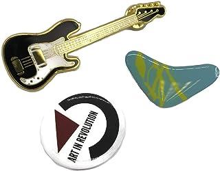 3ギターブーメランアート革命レプリカマクフライのBTTFジャケットPINセット