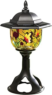 Solar Patio and Garden Light, Tiffany Style