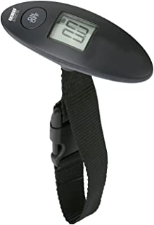 Swiss Crafts Oval Shape Digital Luggage Scale, Digital Travel Weight Suitcases