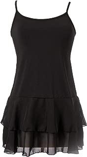 Peekaboo-Chic Iris Chiffon Top Extender - Womens Shirt Extender - Layering Tank Top Shirt Extender for Women
