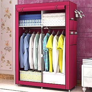 HWG Armoire Penderie Armoire Tissu Organisateur De Vêtements Portable Utilisé pour Ranger Vêtements, Jouets, Livres, Servi...