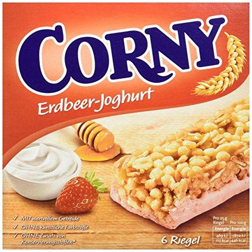 Corny Classic Erdbeer-Joghurt, Müsliriegel, 10er Pack (10 x 150g)
