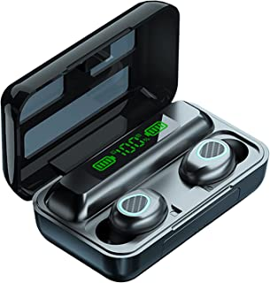 B Blesiya R15 Bluetooth 5.1 True Wireless Earbuds med trådlöst Laddningsfodral TWS Stereo Hörlurar Inbyggd Mic LED Digital...