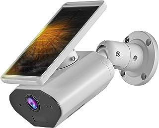 UK PLUS Solar Camera Outdoor, WiFi Camera, Outdoor Security Camera Wireless, Home Security Camera with Night Vision Motion...