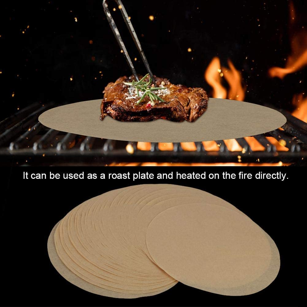 Baking Animer and price revision paper round barbecue foil 5 ☆ very popular 100 bar 500 9 inch 200 pieces