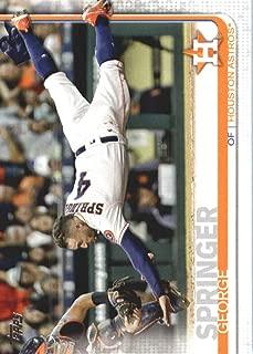 2019 Topps Baseball #323 George Springer Houston Astros