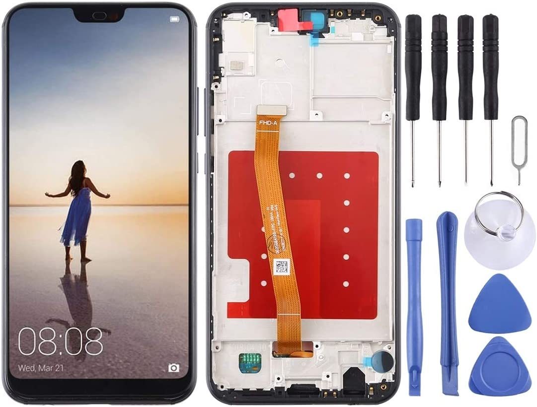 LCD Screen and Digitizer Full Assembly for P20 Ranking Price reduction TOP4 with Huawei Frame