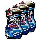 【まとめ買い】タバコ消臭元ストロング 消臭芳香剤 部屋用 パワフルEXクリーン 400ml×3個